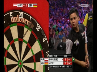 Austria vs Germany (PDC World Cup of Darts 2015 / Second Round)