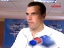 6 тур ЧР 2009 ЦСКА - Ростов 1-2 ( Интервью Вени)