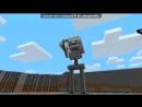 «майнкрафт» под музыку Эпичная реп Битва в Майнкравте - Скелет & зомби