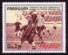 """№13. PARAGUAY – BELGIUM 1:0 (1:0). Немотивированные """"Гуарани"""""""