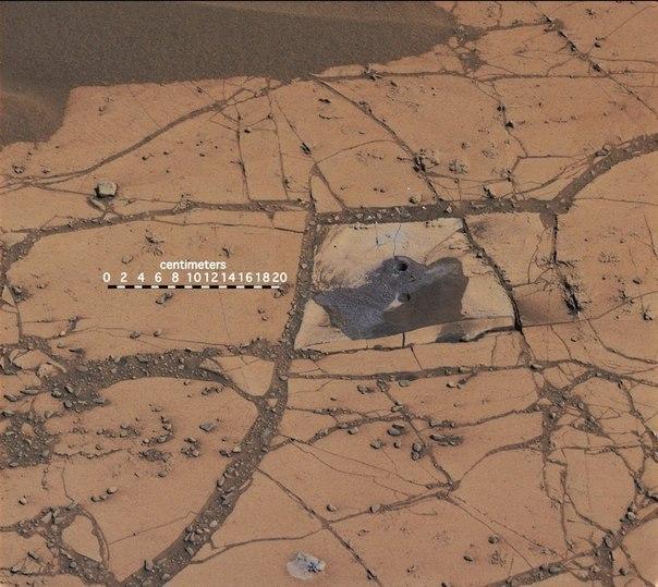 На Марсе обнаружили железо