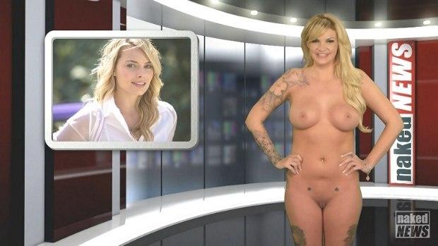 WOW Naked News 23-01-2015 # 1