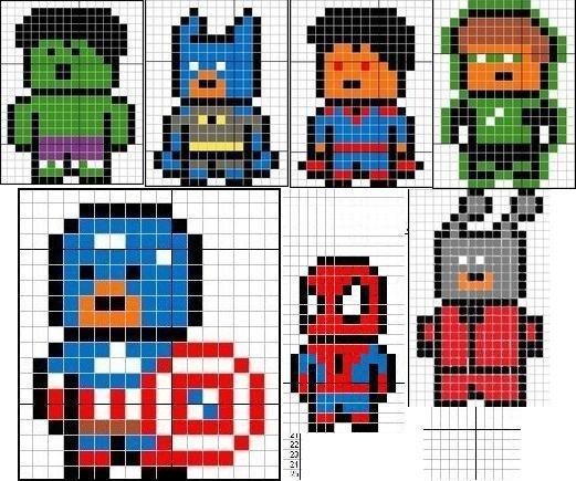пиксель-арт картинки
