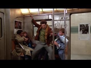 Джерри Сейнфелд в метро