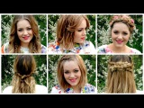 Spring Braid Hair Tutorials | LucyAndLydia