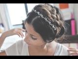HAIR TUTORIAL: EASY MILK MAID BRAID ♡