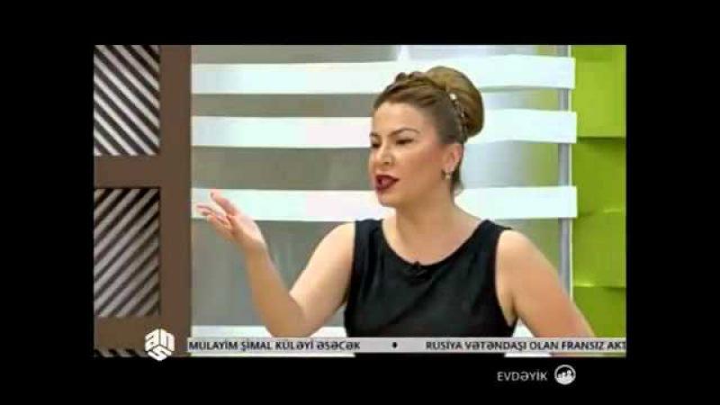Elza Seyidcahan aparici Ulvira ile dalasdi | Evdeyik ANS