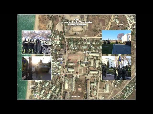 Спец-операция Вежливые Люди - Хроника в Крыму