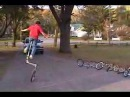 T J Hunter Carson Howell Unicycle Riders