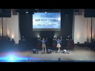 Winner Adults Crew Pro Hip hop | iLike Dance Project | The Challenge Dance Championship 2015