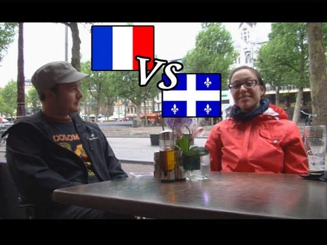 French in Quebec vs France interview en français with subtitles accent attitude history curses