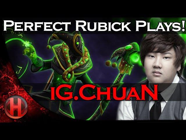 IG.ChuaN Perfect Rubick Plays! vs. Newbee Dota 2