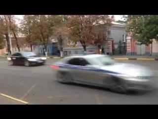 Кортеж с патриархом промчался по Новочеркасску со скоростью 100 км/ч