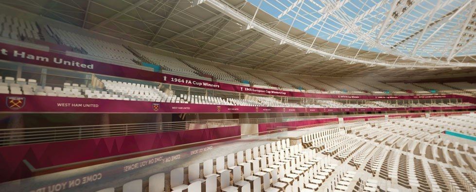 Как будет выглядеть новый стадион «Вест Хэма»
