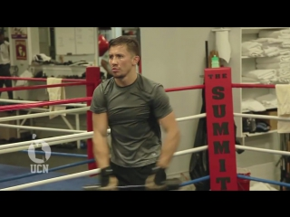 Gennady GGG Golovkin Training at The Summit in Big Bear, CA
