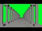 Free Stock Video Footage Corridor Columns