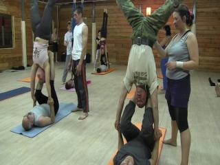 Фестиваль Акро-йоги на Алтае. Акроолимпик. Hand-to-Hand