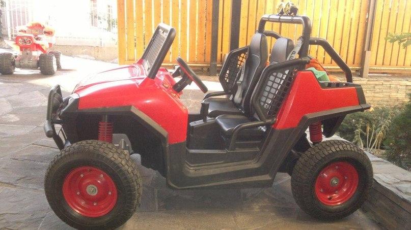 Модификация PegPerego RZR 900