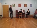 Даниил Гришин(вокал) , Арсений Гусев( партия ф-но), Белая черёмуха