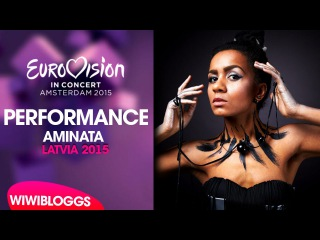 Live: Aminata Savadogo - Love Injected @ Eurovision in Concert, Amsterdam | wiwibloggs
