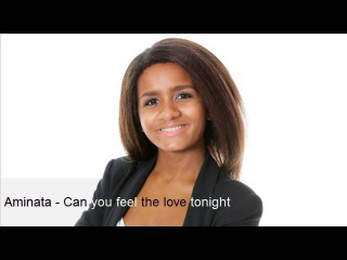 Aminata Savadogo - Can you feel the love tonight
