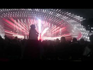Aminata - Love Injected (Latvia) LIVE Eurovision 2015 Grand Final Rehearsal