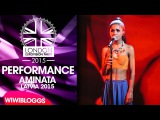 Live: Aminata (Latvia) - Love Injected @ London Eurovision Party 2015 | wiwibloggs