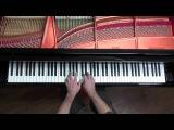 Bach - Toccata and Fugue in D minor BWV 565 - P. Barton, harmonic pedal piano