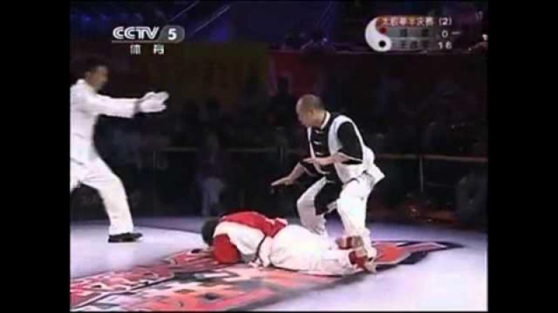 2011.2 太極拳武林大会 準決勝 Semifinal 王戦軍 Wang Zhanjun