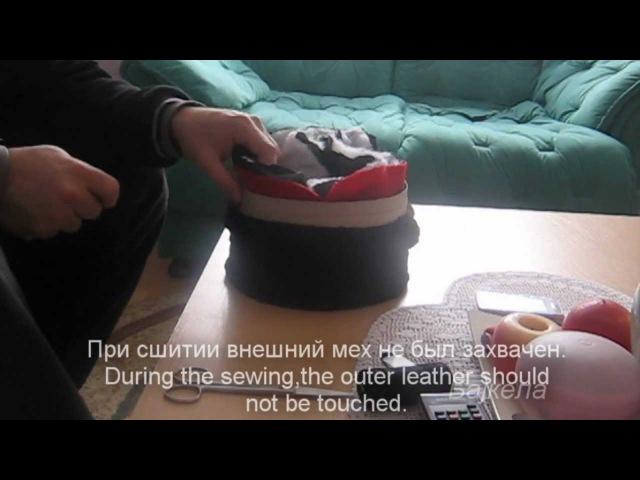How to sew Cuban Cossack hat Как сшить Кубанку