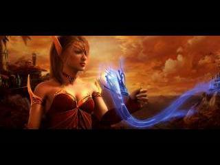 Официальный ролик World of Warcraft: The Burning Crusade