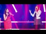 Carla Quartas vs. Celine Bhrer - Soulmate - Battle - The Voice of Switzerland 2014