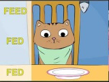 Irregular verbs song, Max the Cat, Part 1 (go, shake, put, bring, feed, come, break)