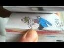 Гангам стайл - клип из рисунков