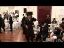 Lipa Schmeltzer and Sruly Green singing Mizrach at his Nephews Wedding