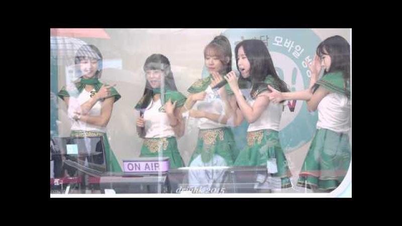 150911 크레용팝CrayonPop (초아) - 빠빠빠 노래방 라이브 Ver. BarBarBar Karaoke Ver. [해요TV 상암문화광장] by drighk