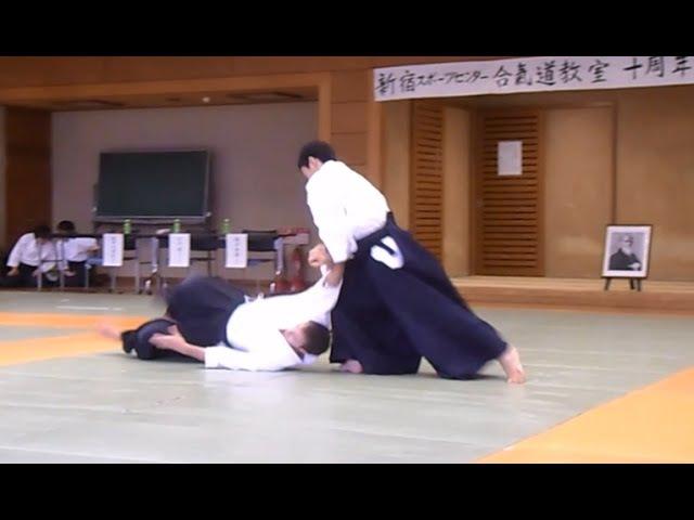 Suzuki Toshio Shidoin - Aikido Demonstration