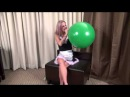 Roxie Big Balloon Sit Pop Attempt