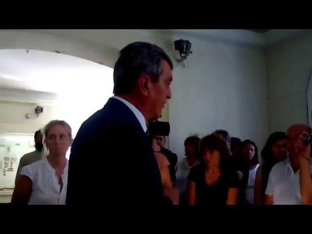 Как губернатор Меняйло ведет себя перед сотрудниками музея Херсонеса