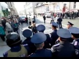 Разгон митинга За мир в г  Харьков  27 09 2014 2ч