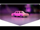 Машинки Хот Вилс: розовый симпсонмобиль