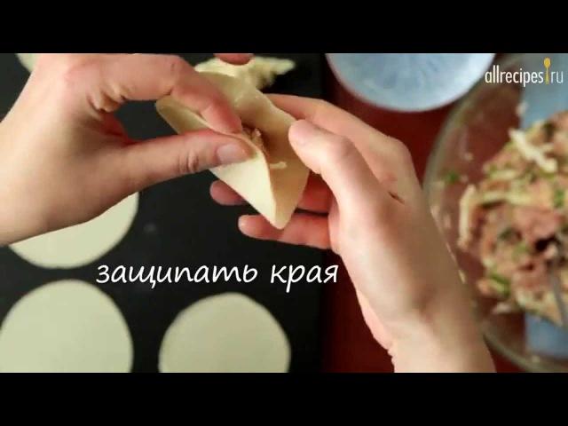 Японские пельмени Гедза Геза видео рецепт