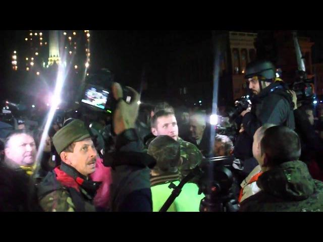 Прорив сотні Парасюка на сцену Майдану 21.02.2014