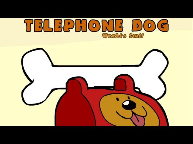 Telephone Dog : animated music video : MrWeebl