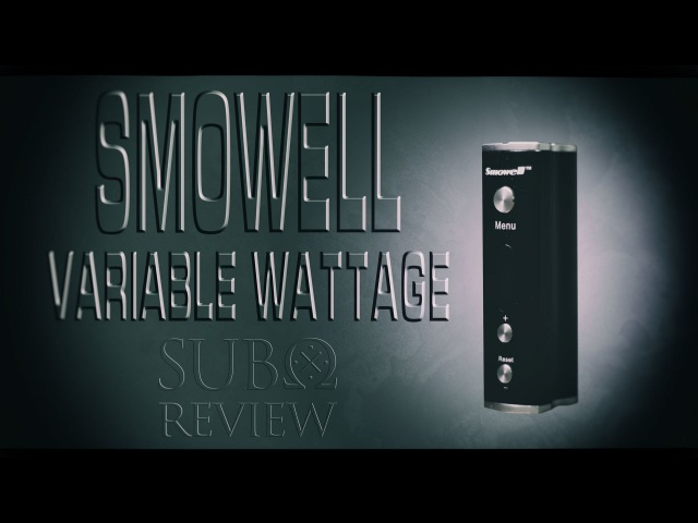 Smowell DPV-50 Variable Wattage - Скромный бюджетник!