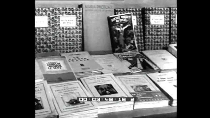 Roma. S.M. il Re visita la VI mostra del Sindacato Autori e Scrittori del Lazio.