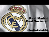 Стартовый состав на матч Реал Мадрид - Реал Сосьедад (31/01/15, Ла Лига)