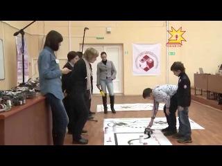 Участие Вовы В Республиканских соревнованиях по робототехнике среди школьников