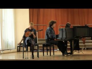 Г.Ф. Гендель Соната a-moll 3 и 4 части; Хальворсен Скерцино; В. Лаптев Импровизация.