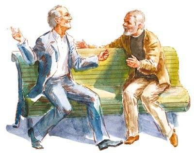 Разговор двух приятелей